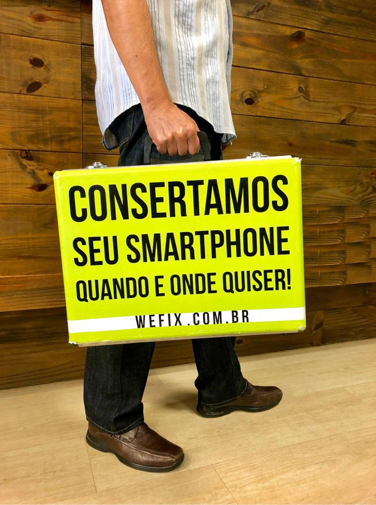 Consertamos seu Smartphone QUANDO E ONDE quiser